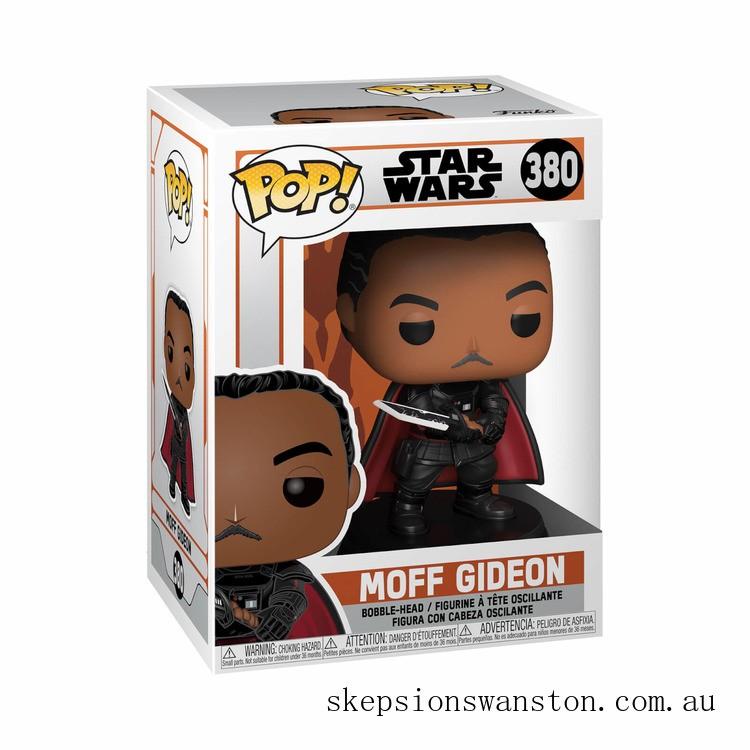 Star Wars The Mandalorian Moff Gideon Funko Pop! Vinyl Clearance Sale