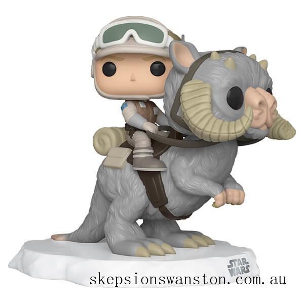 Star Wars Empire Strikes Back Luke Skywalker on Taun Taun Funko Pop! Deluxe Clearance Sale