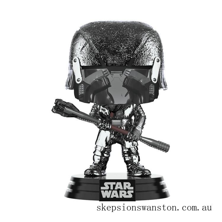 Star Wars: Rise of the Skywalker - Knights of Ren Club (Hematite Chrome) Funko Pop! Vinyl Clearance Sale
