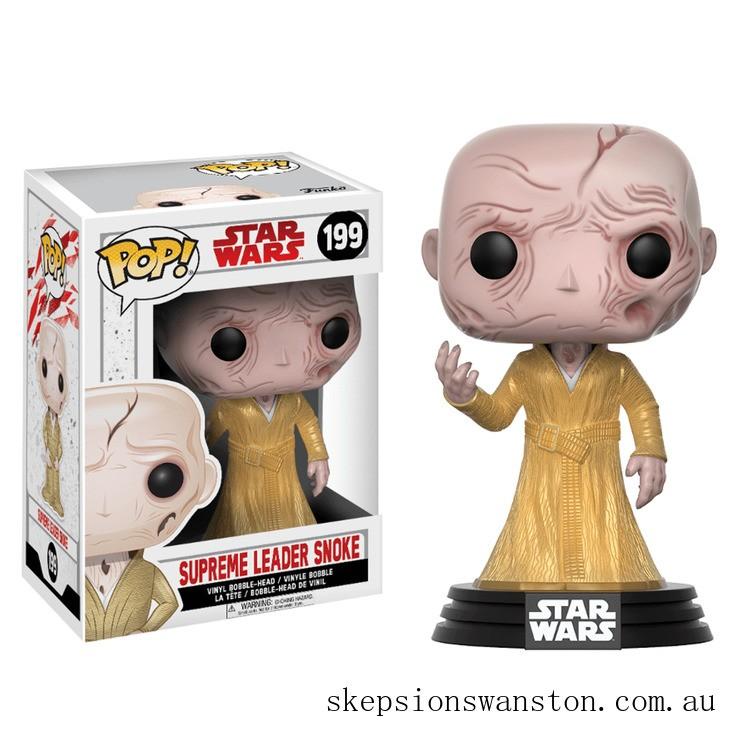 Star Wars The Last Jedi Supreme Leader Snoke Funko Pop! Vinyl Clearance Sale