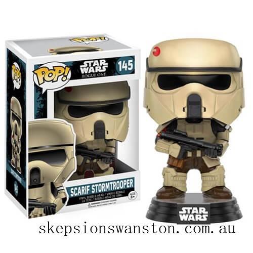 Star Wars Rogue One Scarif Stormtrooper Funko Pop! Vinyl Bobblehead Clearance Sale
