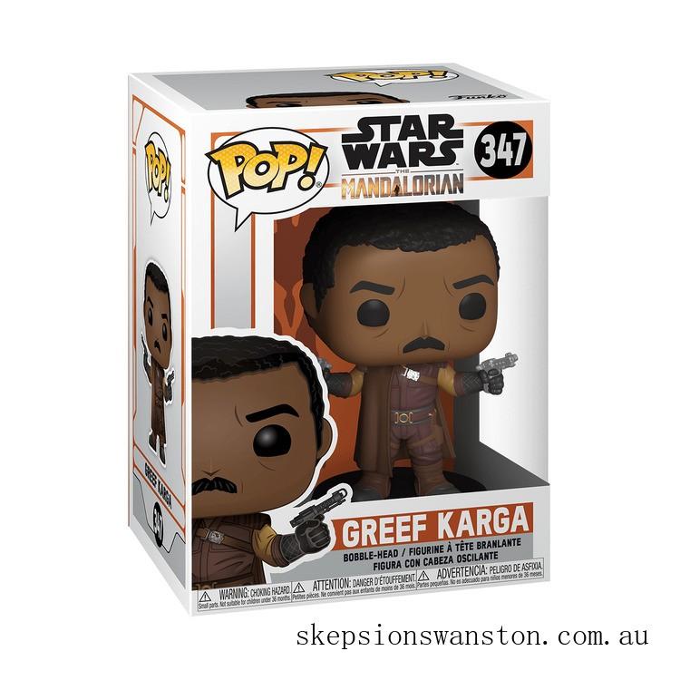 Star Wars The Mandalorian Greef Karga Funko Pop! Vinyl Clearance Sale