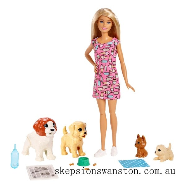 Hot Sale Barbie Doggy Daycare Doll and Pets