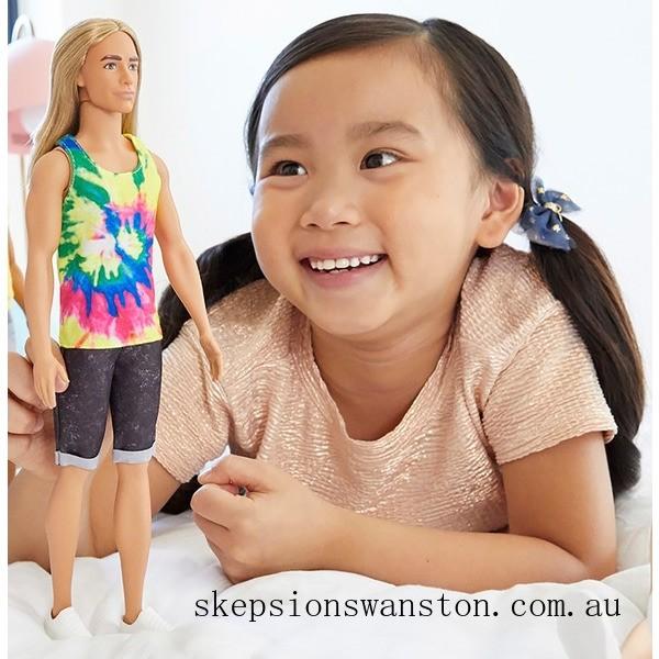 Clearance Ken Fashionista Doll 138 Long Hair
