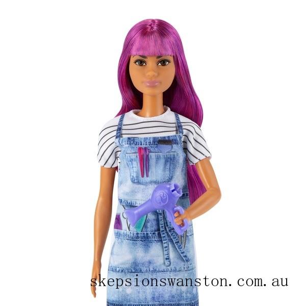 Clearance Barbie Careers Salon Stylist Doll