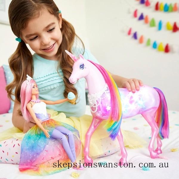 Outlet Sale Barbie Dreamtopia Magical Lights Unicorn