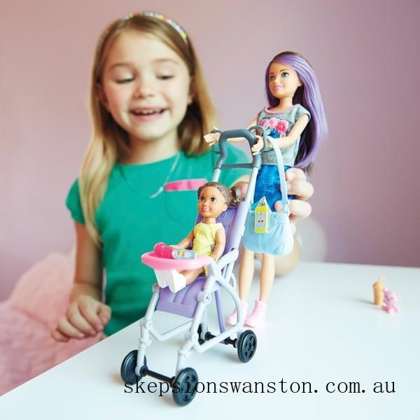 Outlet Sale Barbie Skipper Babysitters Inc Stroller Playset