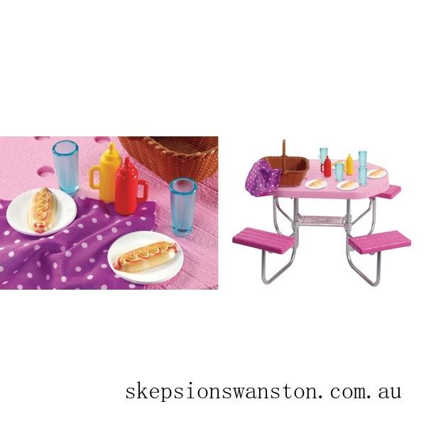 Hot Sale Barbie Outdoor Furniture Assortment