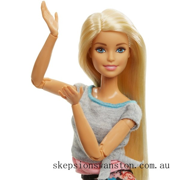 Hot Sale Barbie Made to Move Blonde Doll
