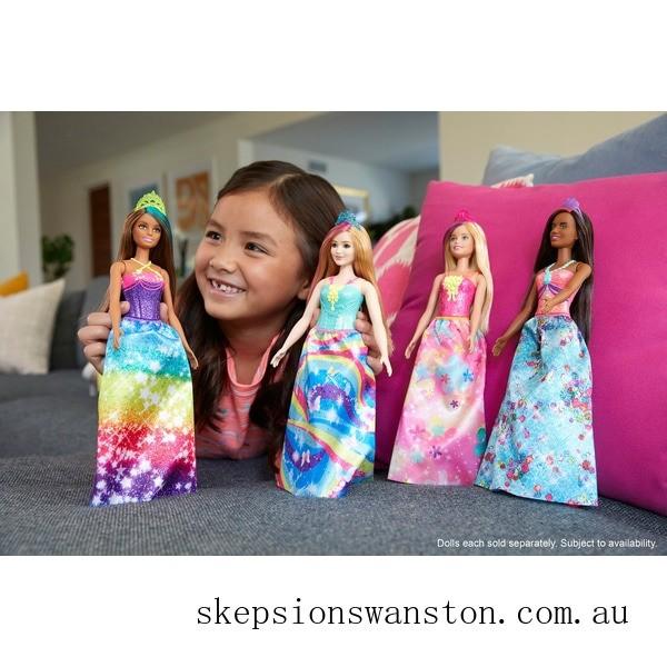 Outlet Sale Barbie Dreamtopia Princess Doll - Starry Rainbow Dress