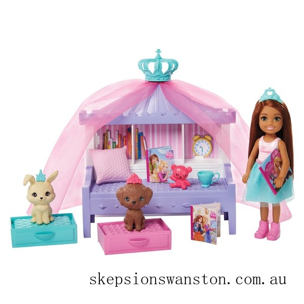Clearance Barbie Princess Adventure Chelsea Doll and Playset
