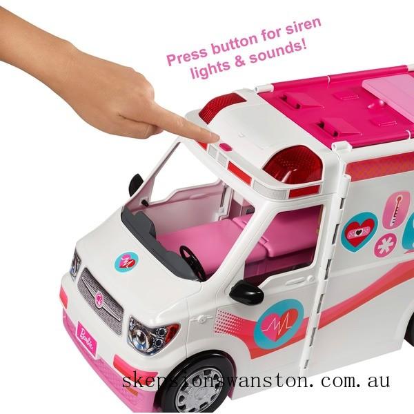 Hot Sale Barbie Care Clinic Vehicle