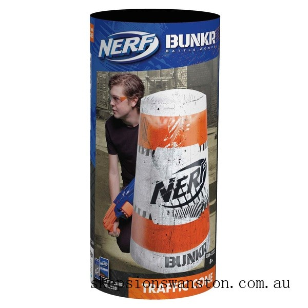 Hot Sale NERF Bunkr Take Cover Traffic Cone