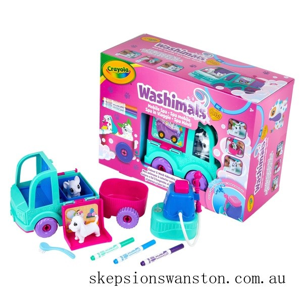 Outlet Sale Crayola Washimals Pets Spa Truck