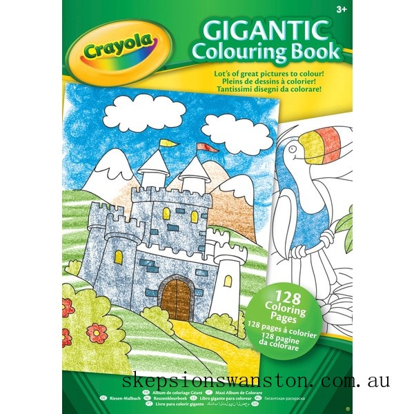 Outlet Sale Crayola Gigantic Colouring Book