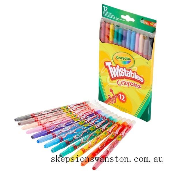Hot Sale Crayola 12 Twistables Crayons