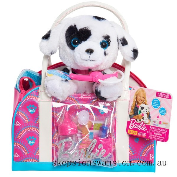 Discounted Barbie Kiss and Care Doctor Set