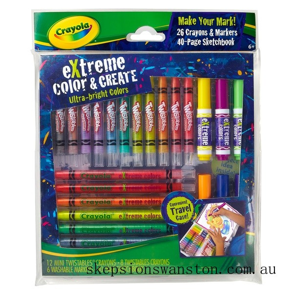 Discounted Crayola Extreme Colour and Create