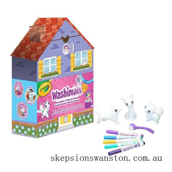 Hot Sale Crayola Washimals Cosy Cottage