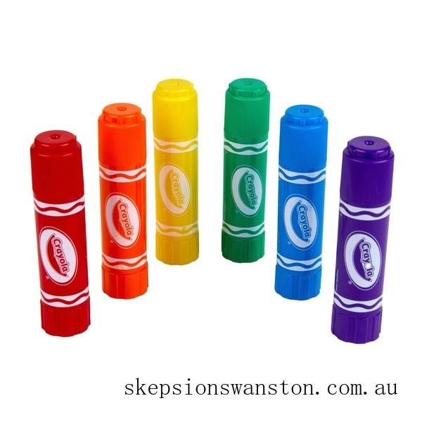 Hot Sale Crayola Paint Sticks 6 Pack