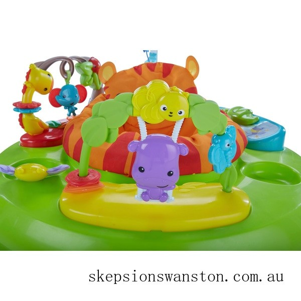 Clearance Fisher-Price Roaring Rainforest Baby Jumperoo