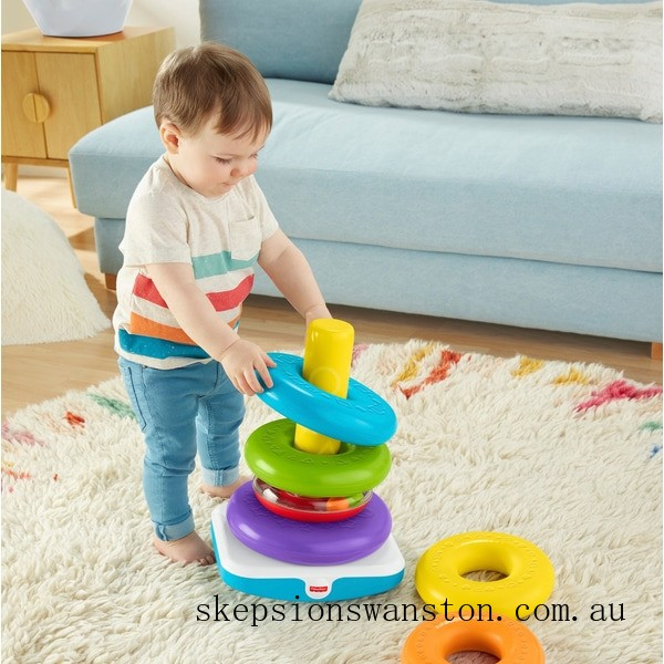 Genuine Fisher-Price Giant Rock-a-Stack Toy For Toddlers