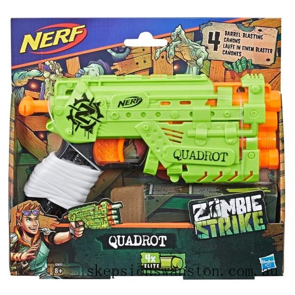 Clearance NERF Zombie Strike Quadrot
