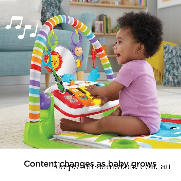 Discounted Fisher-Price Deluxe Kick & Play Piano Gym Play Mat
