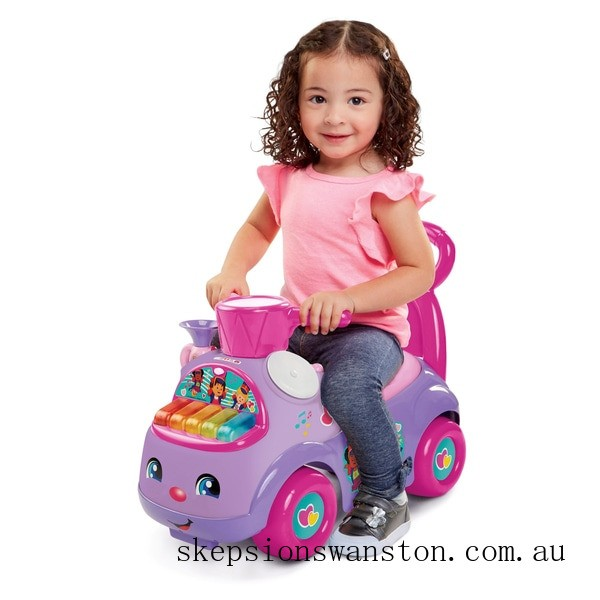 Discounted Fisher-Price Little People Music Parade Purple Ride-on