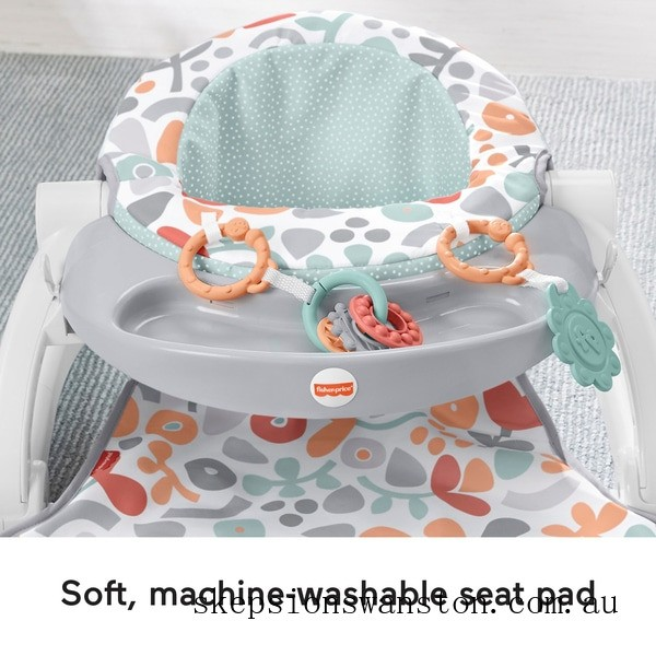 Outlet Sale Fisher-Price Sweet Summer Blossoms Sit-Me-Up Floor Seat