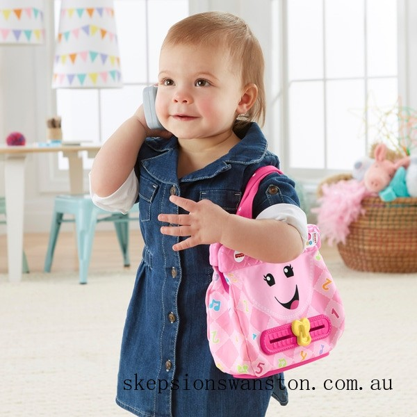 Genuine Fisher-Price Laugh & Learn My Smart Purse Activity Toy