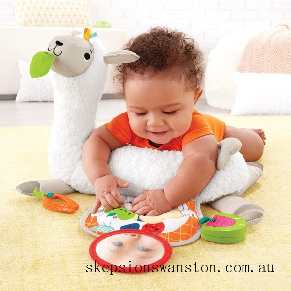 Outlet Sale Fisher-Price Grow-with-Me Tummy Time Llama