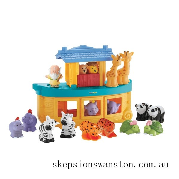 Outlet Sale Fisher-Price Little People Noah's Ark Gift Set