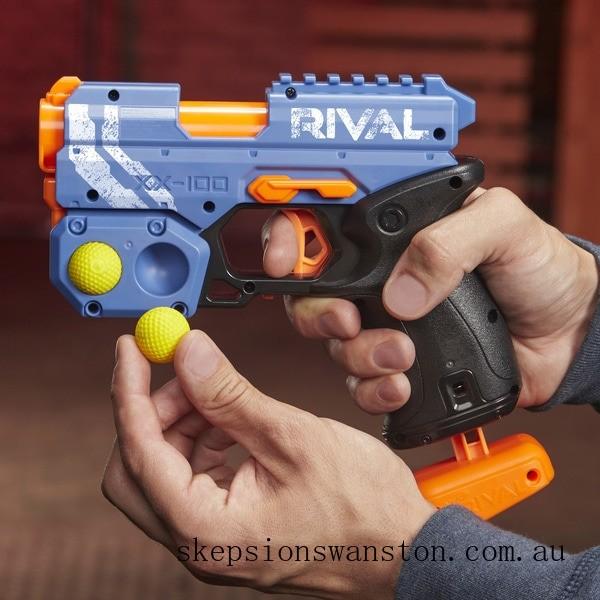 Genuine NERF Rival Knockout XX 100 Blue