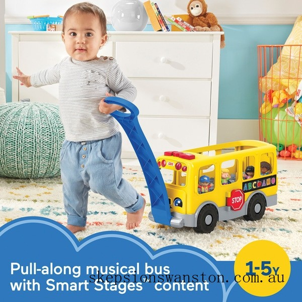 Discounted Fisher-Price Little People Big Yellow School Bus