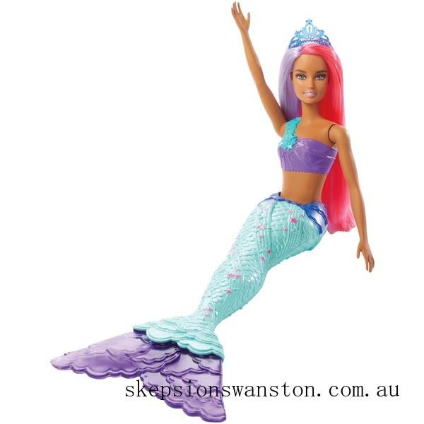 Discounted Barbie Dreamtopia Mermaid Doll - Purple and Pink