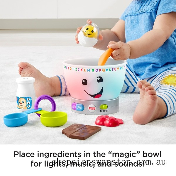 Clearance Fisher-Price Laugh & Learn Magic Colour Mixing Bowl