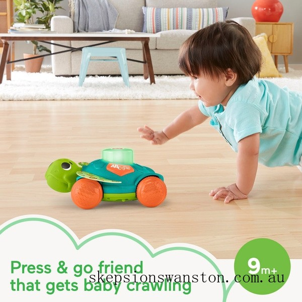 Outlet Sale Fisher-Price Linkimals Sit-to-Crawl Sea Turtle