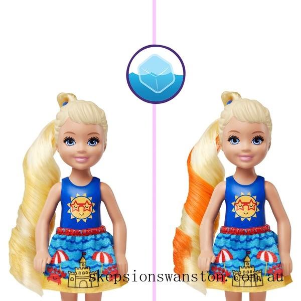 Genuine Barbie Colour Reveal Chelsea Doll with 6 Surprises