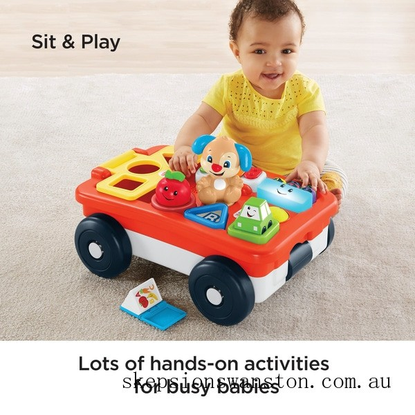 Genuine Fisher-Price Laugh & Learn Pull & Play Learning Wagon