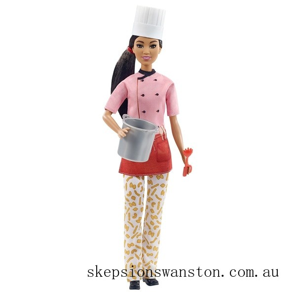 Clearance Barbie Careers Pasta Chef Doll