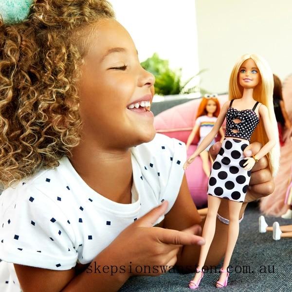 Hot Sale Barbie Fashionista Doll 134 Polka Dots