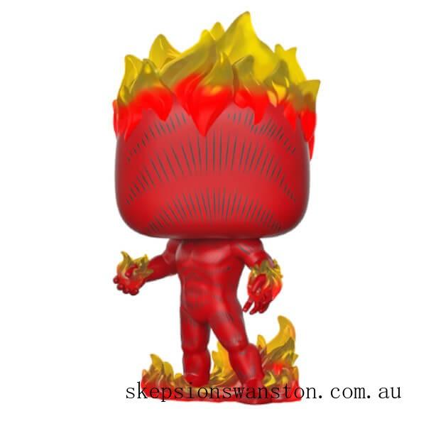 Marvel 80th Human Torch Funko Pop! Vinyl Clearance Sale