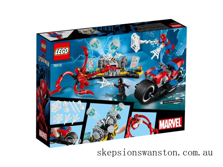 Hot Sale Lego Spider-Man Bike Rescue