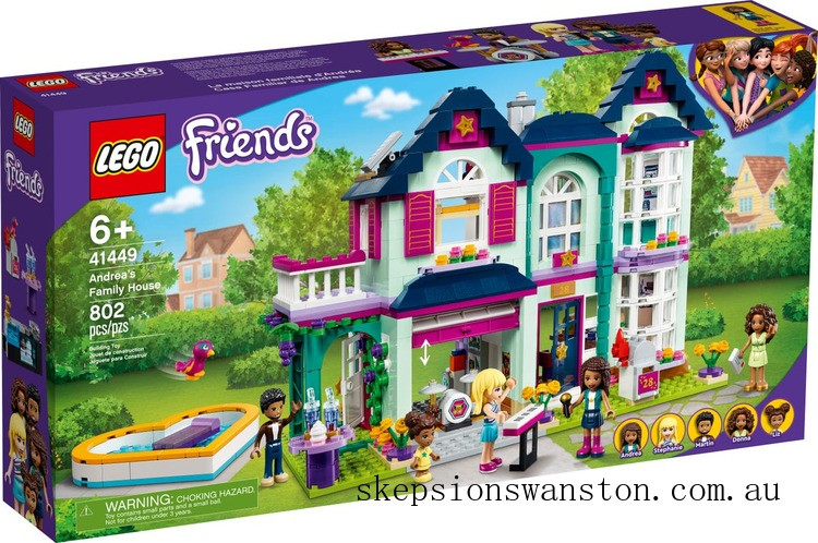 Outlet Sale Lego Andrea's Family House