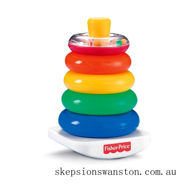 Hot Sale Fisher-Price Rock-a-Stack Baby Activity Toy