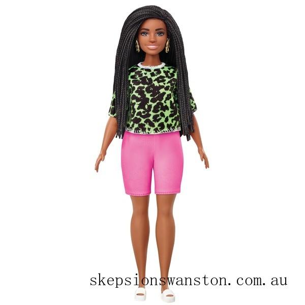 Hot Sale Barbie Fashionista Doll 144 Neon Leopard Shirt