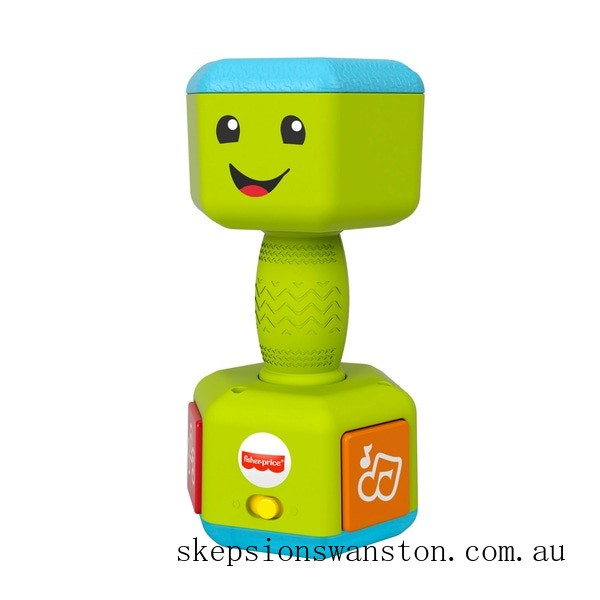 Outlet Sale Fisher-Price Countin' Reps Dumbbell