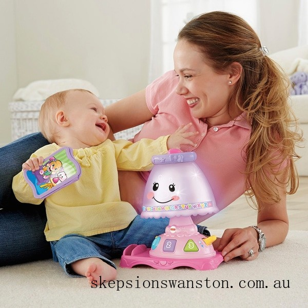 Clearance Fisher-Price Laugh & Learn My Pretty Learning Lamp