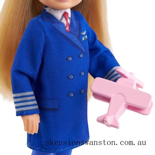 Genuine Barbie Chelsea Career Doll - Pilot